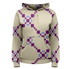 Pattern Background Vector Seamless Women s Pullover Hoodie