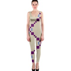 Pattern Background Vector Seamless Onepiece Catsuit