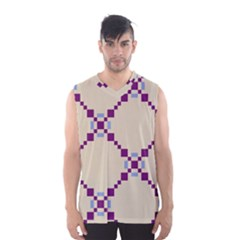 Pattern Background Vector Seamless Men s Basketball Tank Top