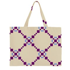 Pattern Background Vector Seamless Large Tote Bag