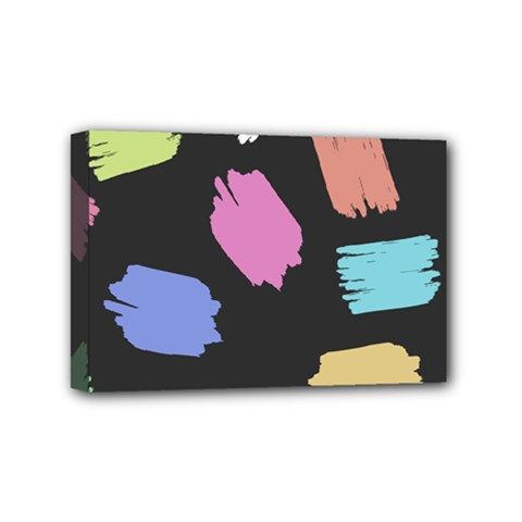 Many Colors Pattern Seamless Mini Canvas 6  x 4