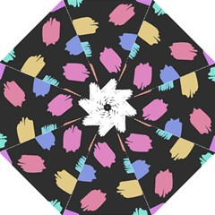 Many Colors Pattern Seamless Folding Umbrellas