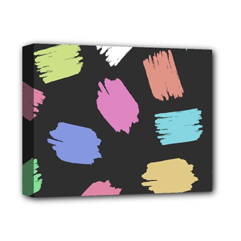 Many Colors Pattern Seamless Deluxe Canvas 14  x 11