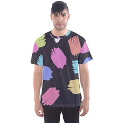 Many Colors Pattern Seamless Men s Sport Mesh Tee