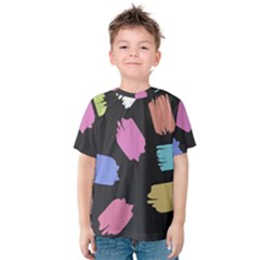 Many Colors Pattern Seamless Kids  Cotton Tee