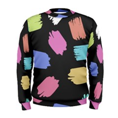 Many Colors Pattern Seamless Men s Sweatshirt