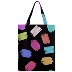 Many Colors Pattern Seamless Zipper Classic Tote Bag