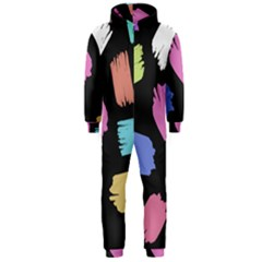 Many Colors Pattern Seamless Hooded Jumpsuit (men)