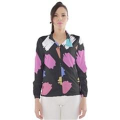 Many Colors Pattern Seamless Wind Breaker (women)