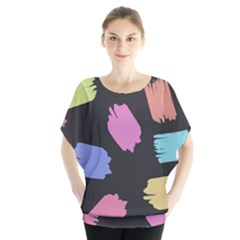 Many Colors Pattern Seamless Blouse