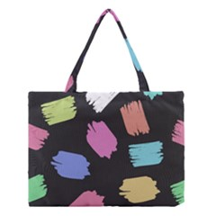 Many Colors Pattern Seamless Medium Tote Bag