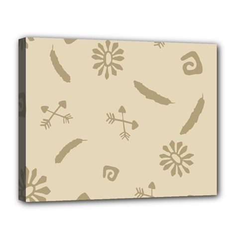Pattern Culture Seamless American Canvas 14  x 11