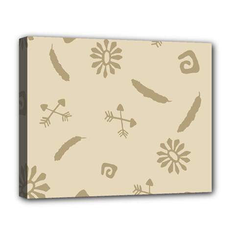 Pattern Culture Seamless American Deluxe Canvas 20  X 16