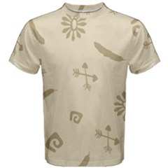 Pattern Culture Seamless American Men s Cotton Tee