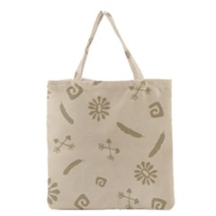 Pattern Culture Seamless American Grocery Tote Bag