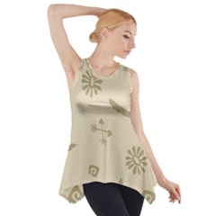 Pattern Culture Seamless American Side Drop Tank Tunic