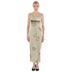 Pattern Culture Seamless American Fitted Maxi Dress