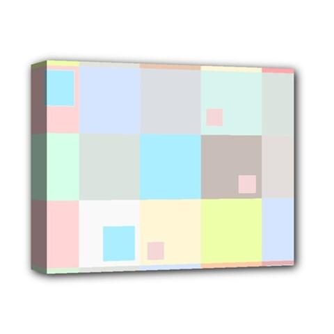 Pastel Diamonds Background Deluxe Canvas 14  x 11
