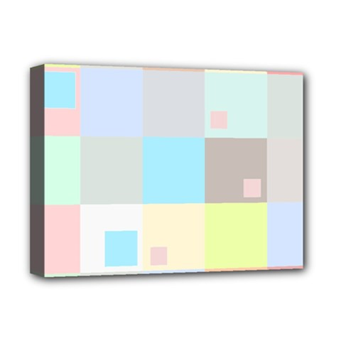 Pastel Diamonds Background Deluxe Canvas 16  X 12