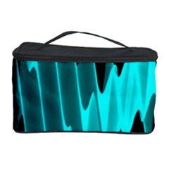 Wave Pattern Vector Design Cosmetic Storage Case