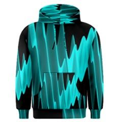 Wave Pattern Vector Design Men s Pullover Hoodie