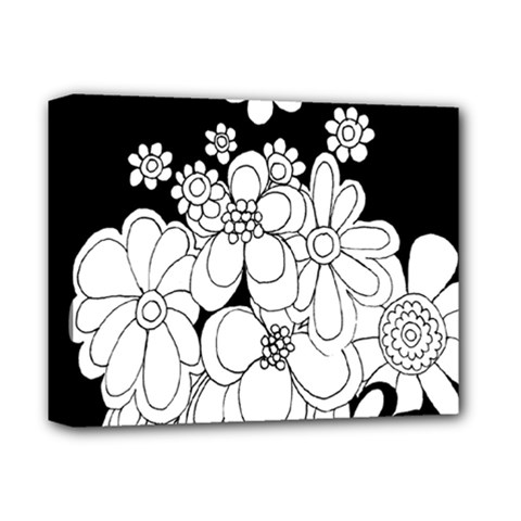 Mandala Calming Coloring Page Deluxe Canvas 14  X 11