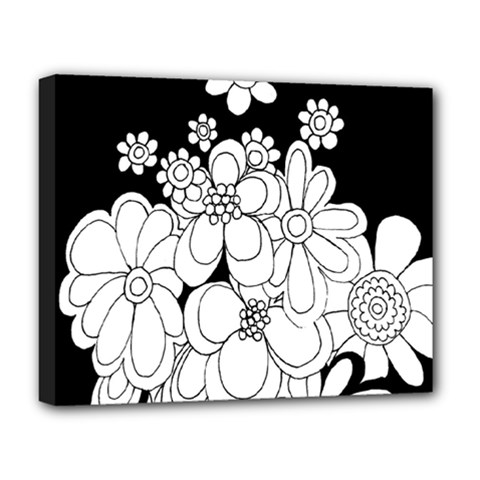 Mandala Calming Coloring Page Deluxe Canvas 20  x 16
