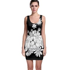 Mandala Calming Coloring Page Sleeveless Bodycon Dress
