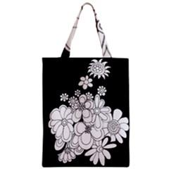 Mandala Calming Coloring Page Zipper Classic Tote Bag
