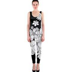 Mandala Calming Coloring Page OnePiece Catsuit