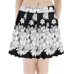 Mandala Calming Coloring Page Pleated Mini Skirt