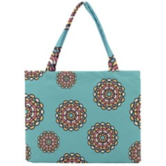 Circle Vector Background Abstract Mini Tote Bag