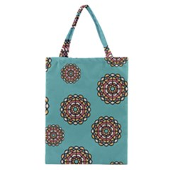 Circle Vector Background Abstract Classic Tote Bag