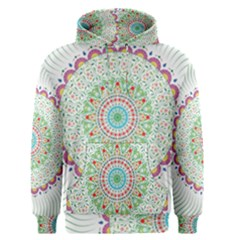 Flower Abstract Floral Men s Pullover Hoodie