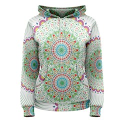 Flower Abstract Floral Women s Pullover Hoodie