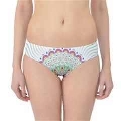 Flower Abstract Floral Hipster Bikini Bottoms