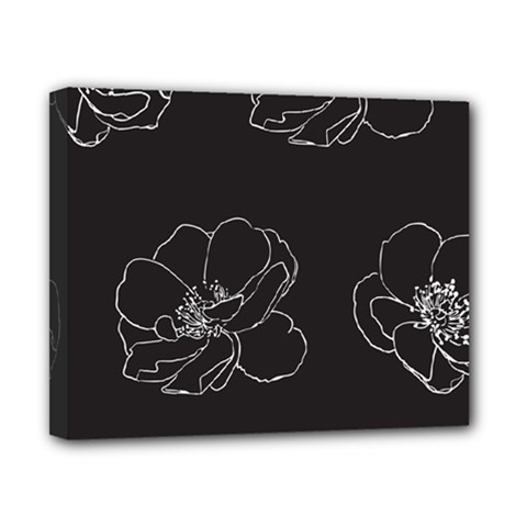 Rose Wild Seamless Pattern Flower Canvas 10  X 8