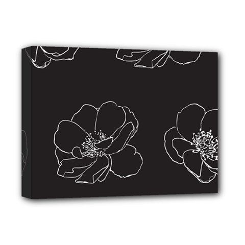 Rose Wild Seamless Pattern Flower Deluxe Canvas 16  X 12