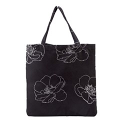 Rose Wild Seamless Pattern Flower Grocery Tote Bag