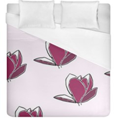 Magnolia Seamless Pattern Flower Duvet Cover (king Size)