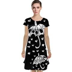 Mandala Calming Coloring Page Cap Sleeve Nightdress
