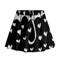 Mandala Calming Coloring Page Mini Flare Skirt