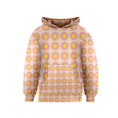 Pattern Flower Background Wallpaper Kids  Pullover Hoodie