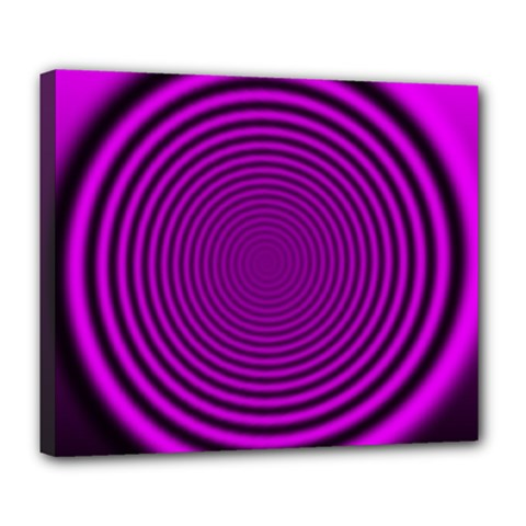 Background Coloring Circle Colors Deluxe Canvas 24  X 20