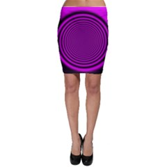 Background Coloring Circle Colors Bodycon Skirt