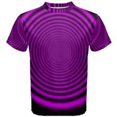 Background Coloring Circle Colors Men s Cotton Tee