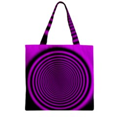 Background Coloring Circle Colors Zipper Grocery Tote Bag