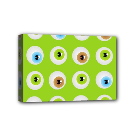 Eyes Background Structure Endless Mini Canvas 6  x 4
