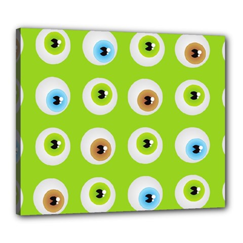 Eyes Background Structure Endless Canvas 24  X 20