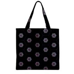 Mandala Calming Coloring Page Zipper Grocery Tote Bag